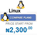 Compare Linux web hosting Plans